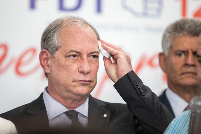 Lançamento das pré-candidaturas de Ciro Gomes (à Presidência da República) e de Joe Valle (ao governo do DF).