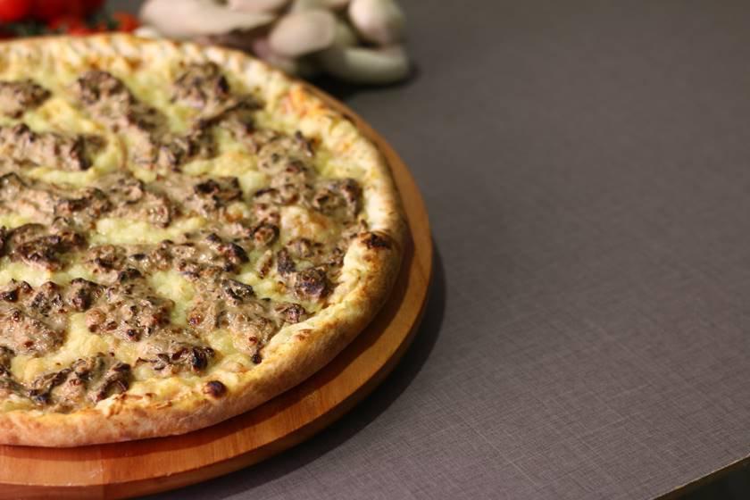 Foto 3 - Pizza Funghi, excelente opção vegetariana