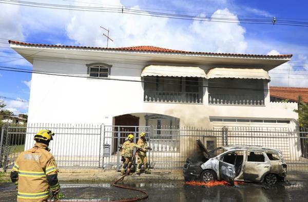incêndio, embaixada guiné-bissau