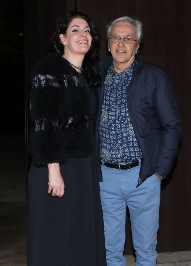 Caetano Veloso e Paula Lavigne