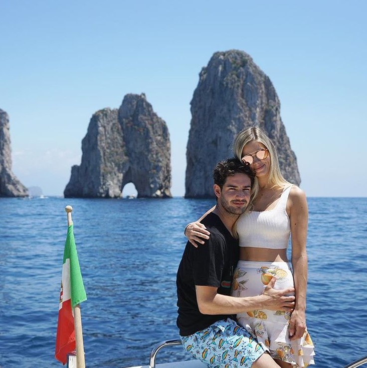 Alexandre Pato e namorada