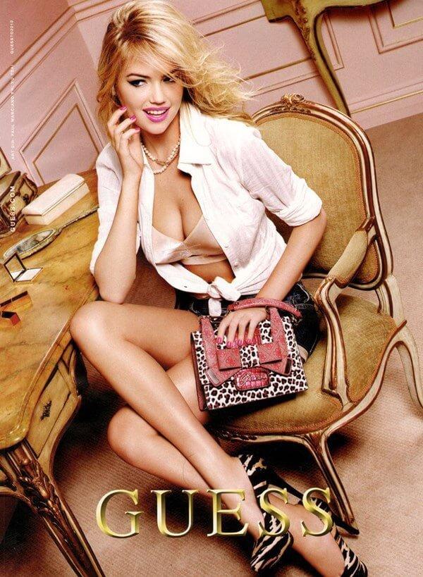 Kate Upton para campanha Primavera-Verão 2011 da Guess