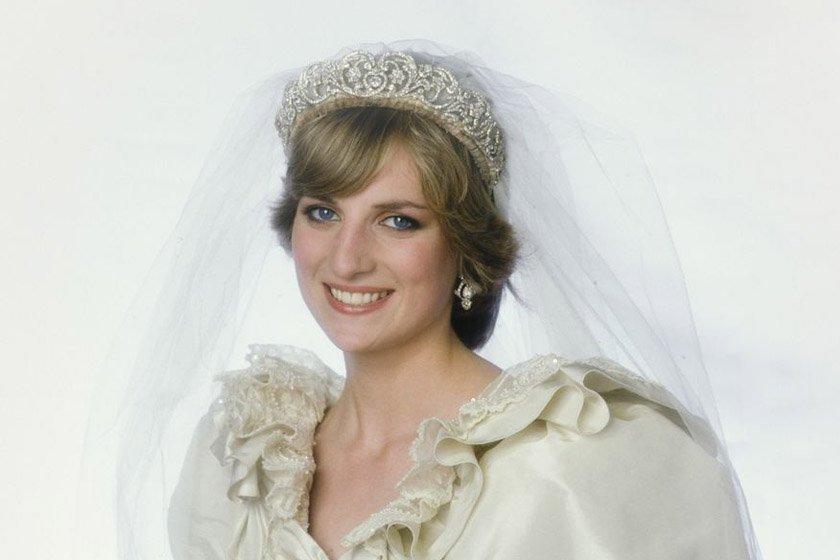 e34f5bed9 Prima do príncipe Harry usa tiara da princesa Diana em seu casamento