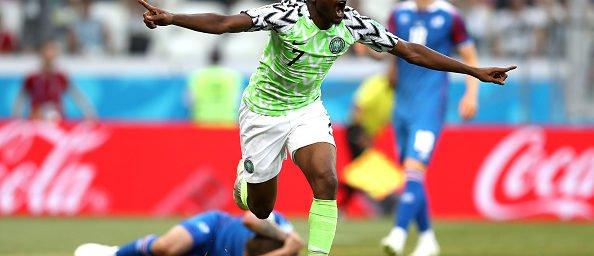 Nigéria derrota a Islândia por 2 x 0 e dá esperanças para a Argentina eb6a71655bc8f