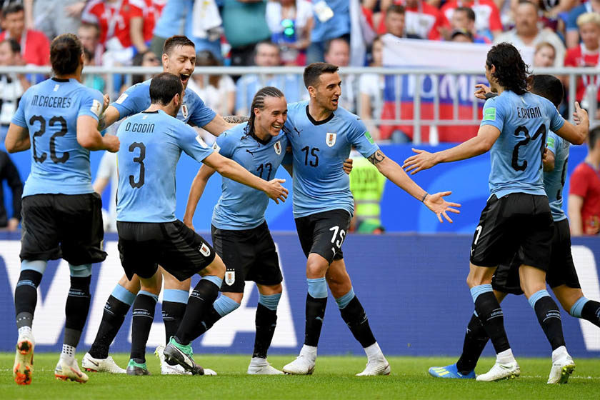 a3618bd915211 Uruguai bate Rússia por 3 x 0 e vai enfrentar Portugal nas oitavas