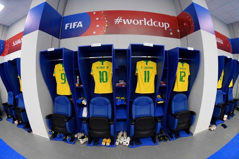 vestiário brasil méxico