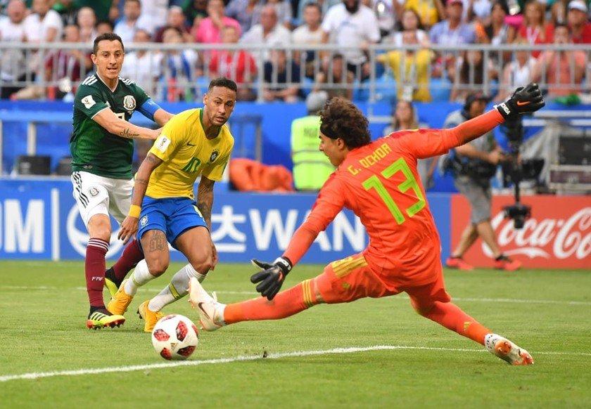 neymar brasil méxico
