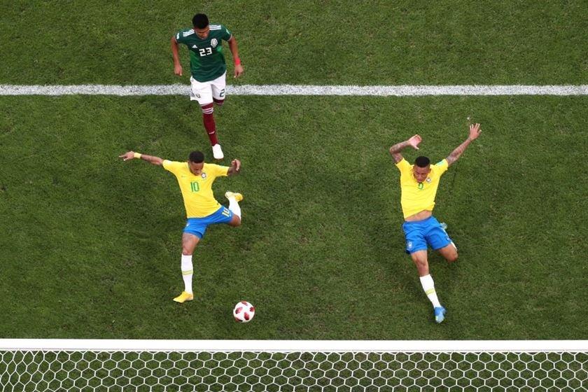 gol neymar brasil méxico