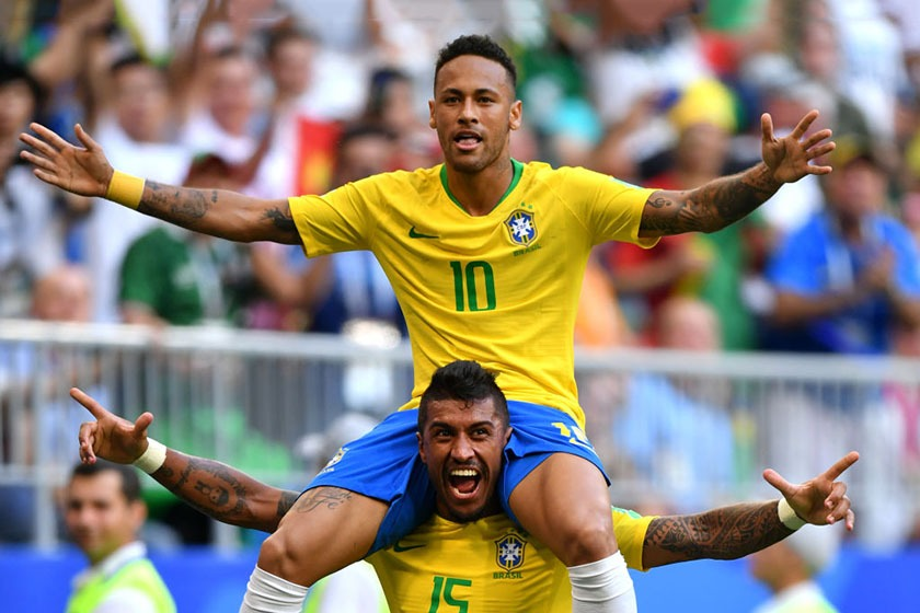 neymar paulinho brasil méxico