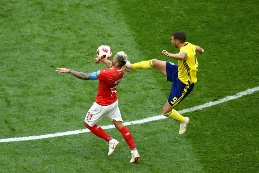 Sweden v Switzerland: Round of 16 - 2018 FIFA World Cup Russia