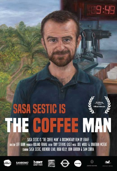 The Coffee Man Poster