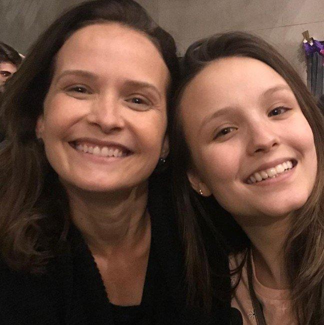 Larissa Manoela e Fernanda Rodrigues