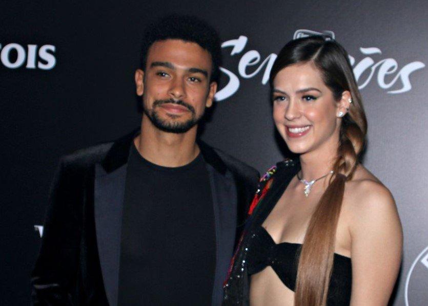 Sophia Abrahão e Sérgio Malheiros