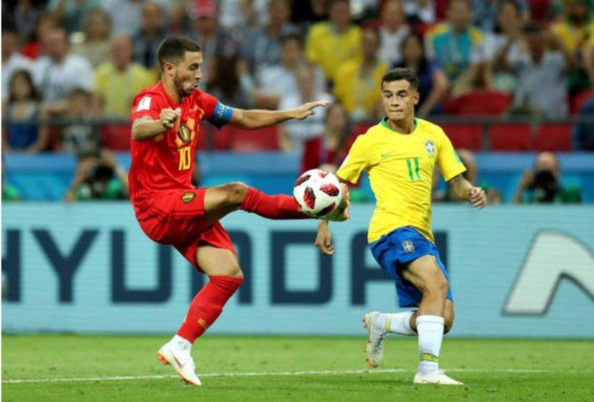 hazard coutinho brasil bélgica