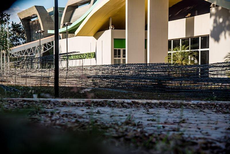 Brasília (DF), 03/07/2018 Casa da Mulher Brasileira está fechada Local: SEN Setor de Grandes Áreas Norte 601 Foto: Hugo Barreto/Metrópoles