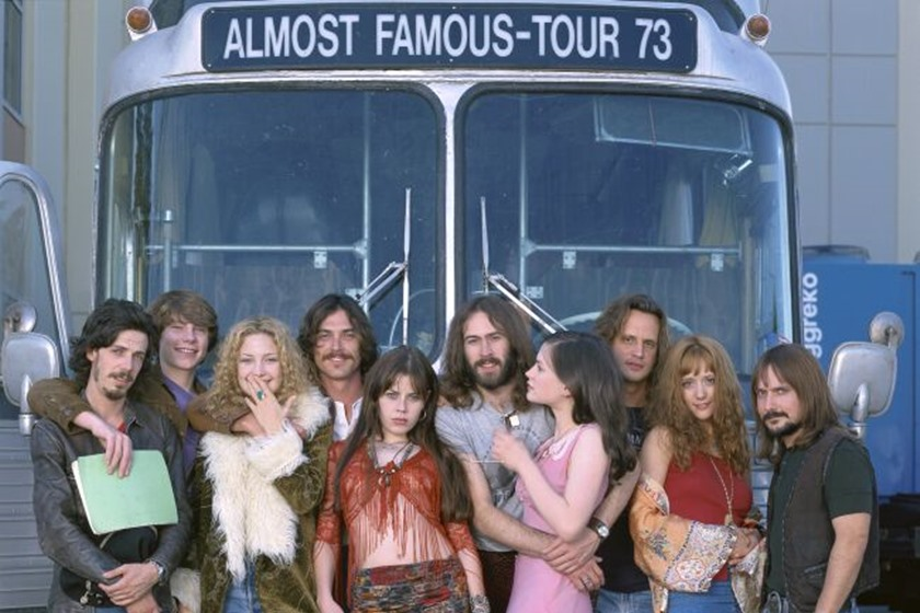 almost famous cred dreamworks llc