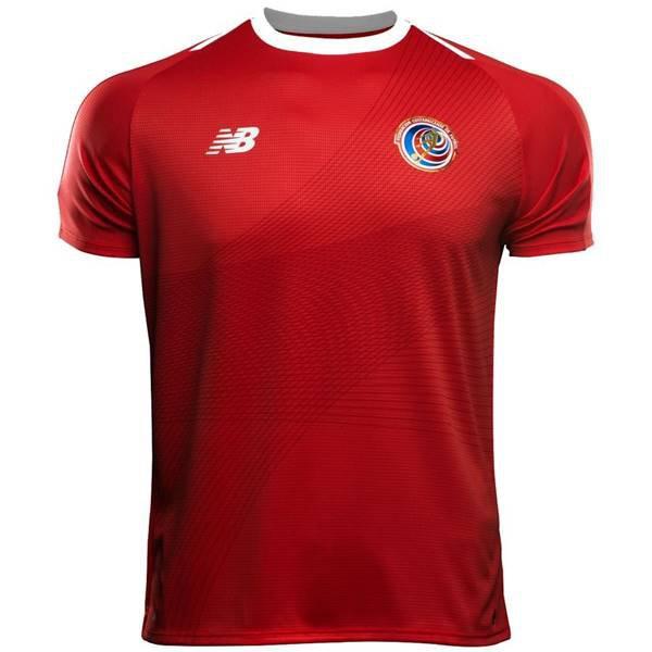 Costa Rica, titular - Uniforme Copa do Mundo - Vermelho