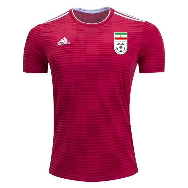 Irã, reserva - Uniforme Copa do Mundo - Vermelho