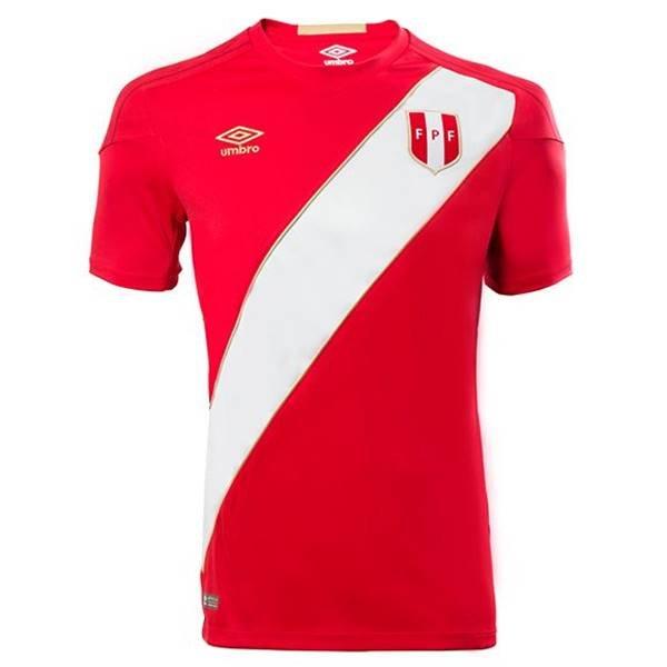 Peru, reserva - Uniforme Copa do Mundo - Vermelho