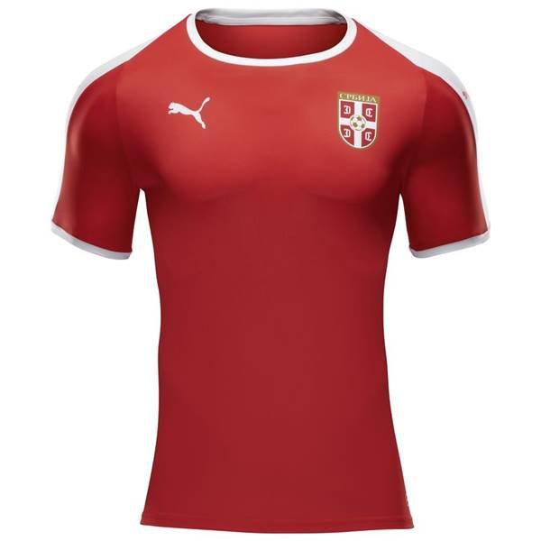 Sérvia, titular - Uniforme Copa do Mundo - Vermelho
