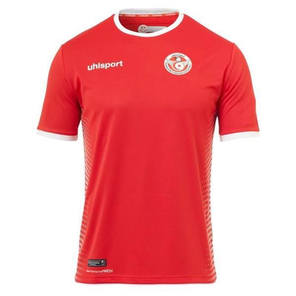 Tunisia, reserva - Uniforme Copa do Mundo - Vermelho