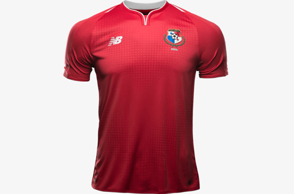 Panama, titular - Uniforme Copa do Mundo - Vermelho