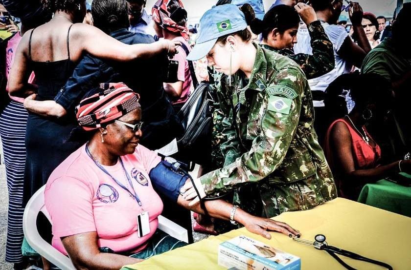 SGT Mache/Exército Brasileiro
