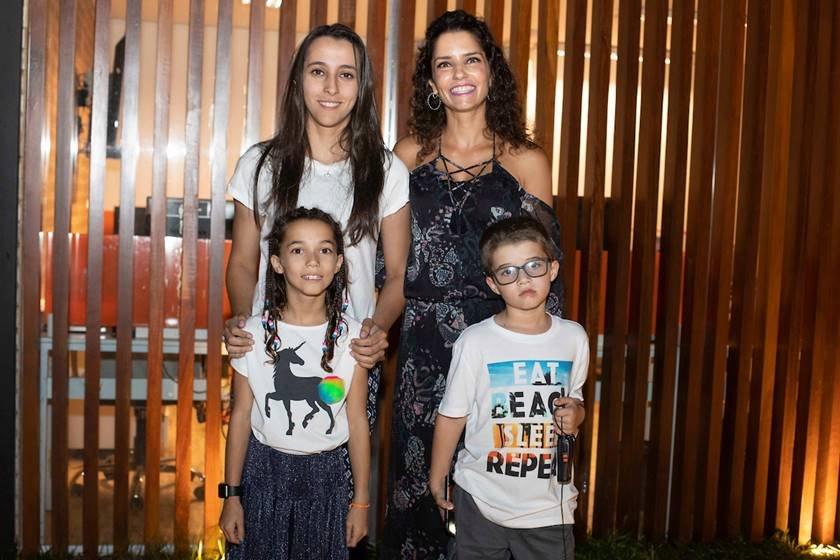 Cleucy Oliveira e Luiza Estevão