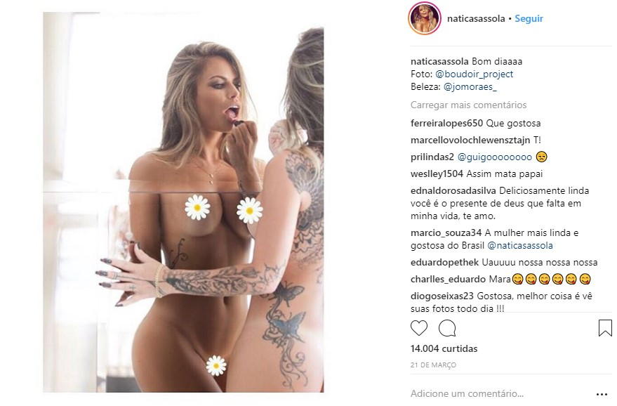 Ex Bbb Nati Casassola Posa Sem Calcinha Antes De Depilação 50f0815b3bf