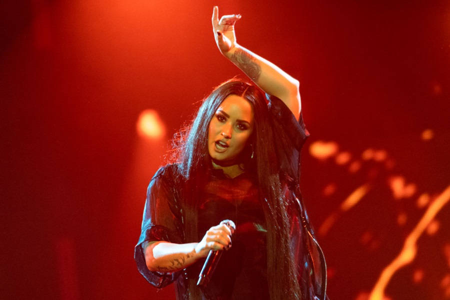 Demi Lovato Performs At The SSE Hydro, Glasgow