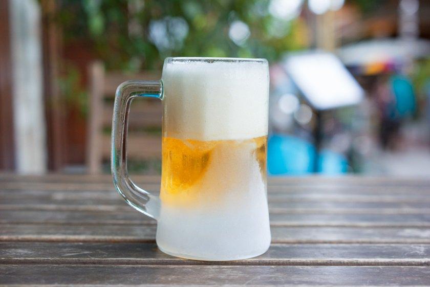 Cerveja, só geladíssima