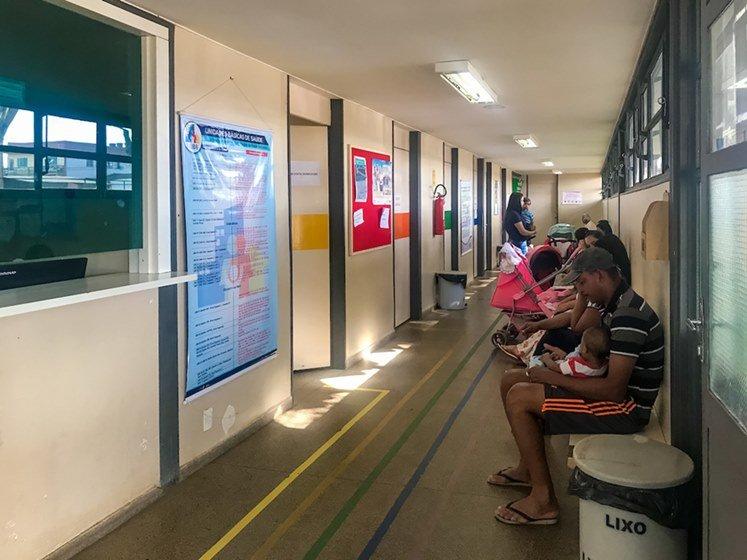 Brasília (DF), 02/08/2018 Atendimento nas UBSs do DF Local: Centro de Saude Foto: Hugo Barreto/Metrópoles
