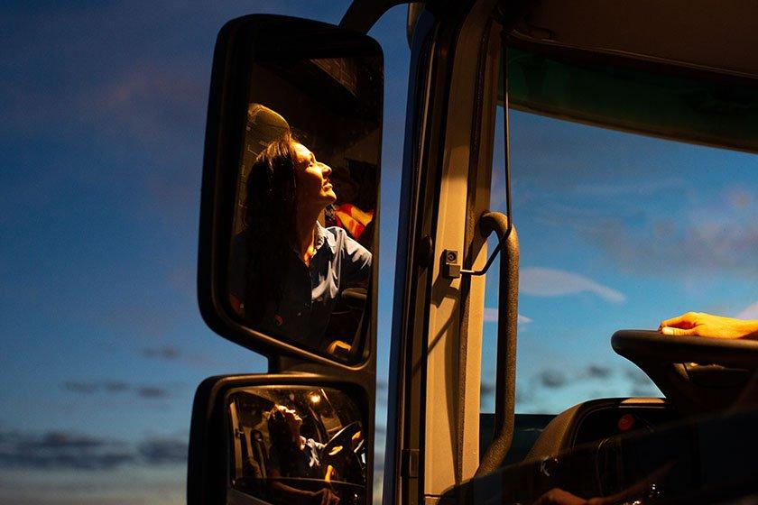 Especial Mulheres caminhoneiras - Goiás(GO), 23/07/2018