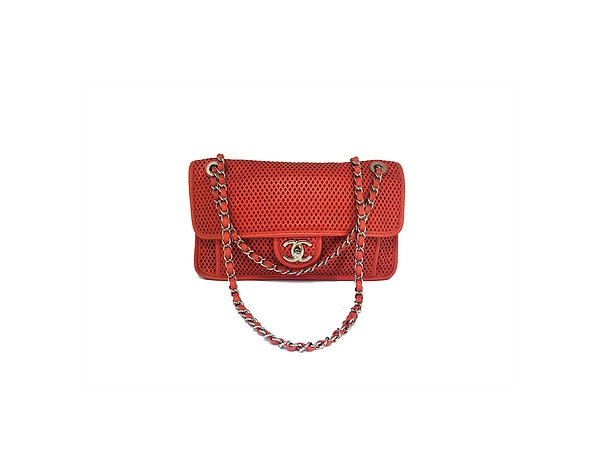 Chanel Calfskin Perforated