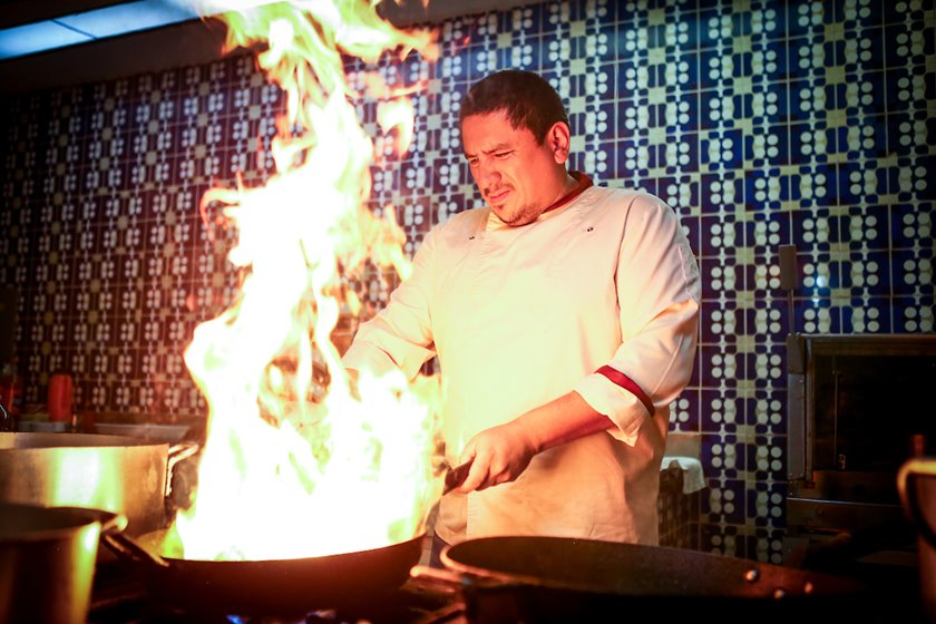 O chef Marco Espinoza