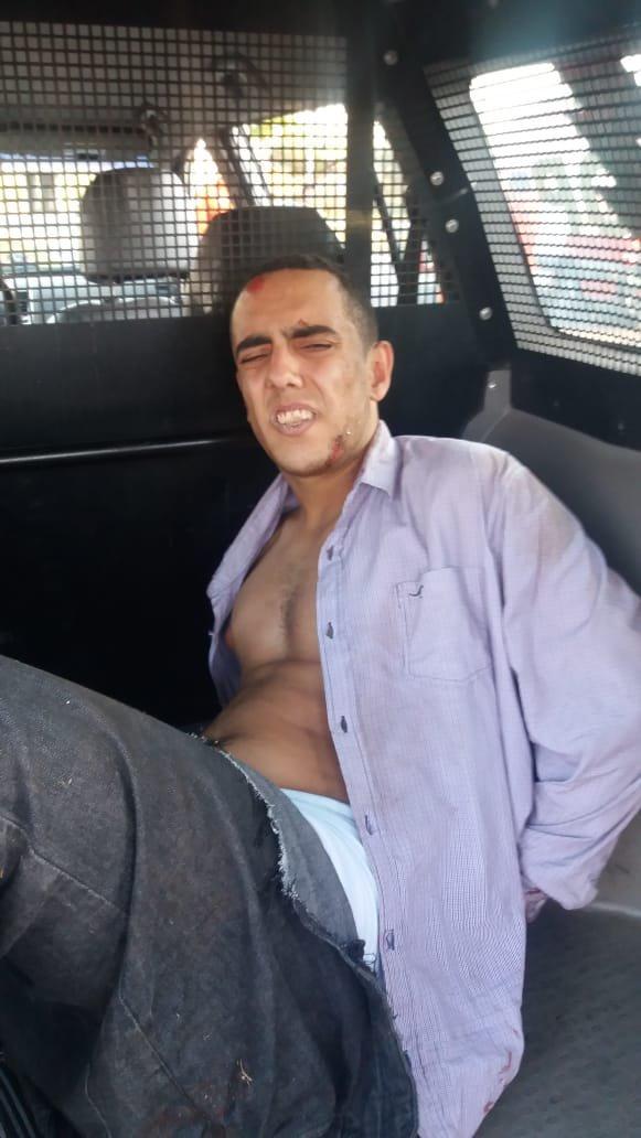 bandido responsável por acidente fatal no eixão sul