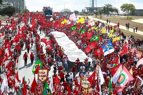 Manifestação pró-Lula novas (2)