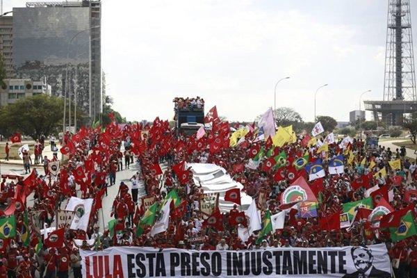 Manifestação pró-Lula novas (4)