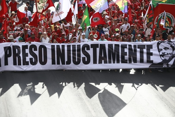 Manifestação pró-Lula novas (5)
