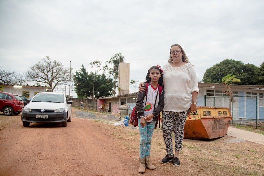 Brasília(DF), 16/08/2018 DF na Real TCDF apontando que mais de 80% das escolas públicas carecem de reformas. Local: Gama Foto: Hugo Barreto/Metrópoles