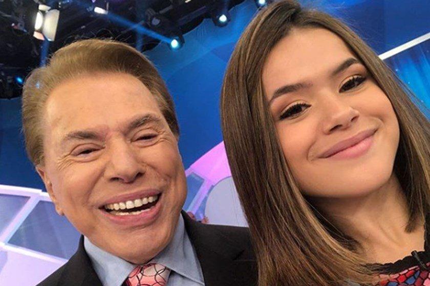 Maisa e Silvio Santos