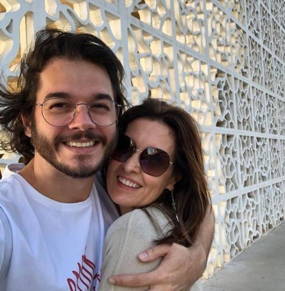 Fátima-Bernardes e Túlio Gadêlha