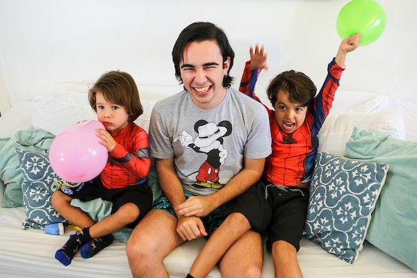 Brasília (DF), 06/09/2018 Fami?lia que contratou homem como baba?. Local: Asa Norte, Brasília. Foto: Filipe Cardoso/Especial para o Metrópoles