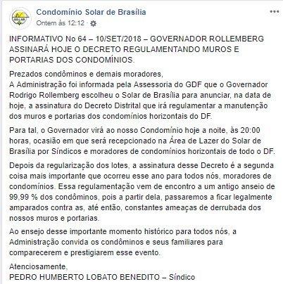 Solar de Brasília