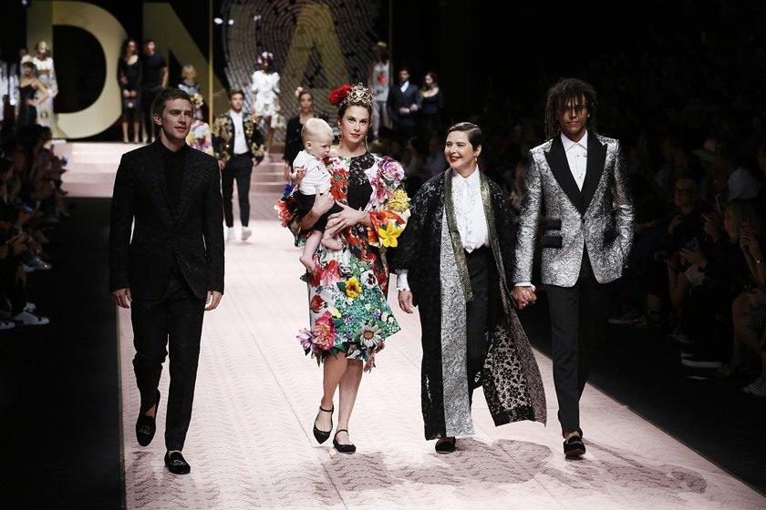 Resultado de imagem para milan fashion week dolce & gabbana