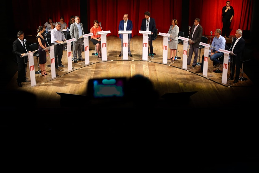 Debate - Resumo Debate Metrópoles