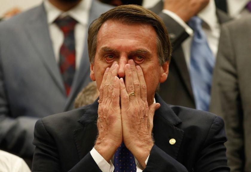 Resultado de imagem para A breve lua-de-mel de Bolsonaro