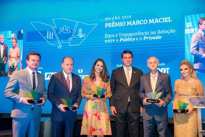 Brasília (DF), 25/09/2018 Premiação Marco MacielLocal: Panteão da Patria Foto: Hugo Barreto/Metrópoles