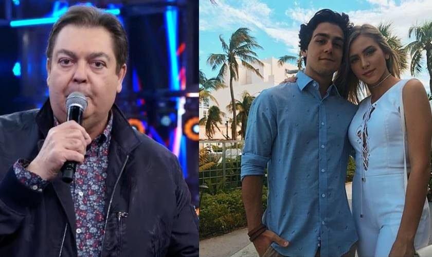 4bc926509 Climão! Faustão comete gafe e deixa ator da TV Globo sem graça