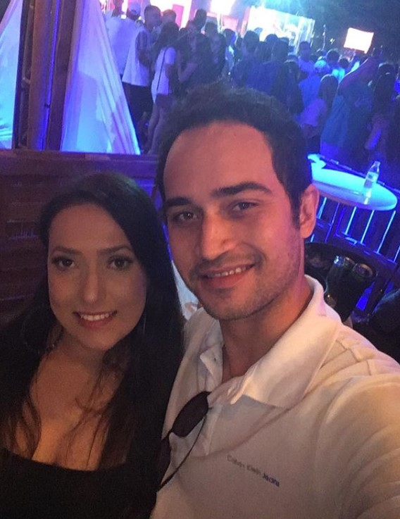 Luciana Camargo e Wesley